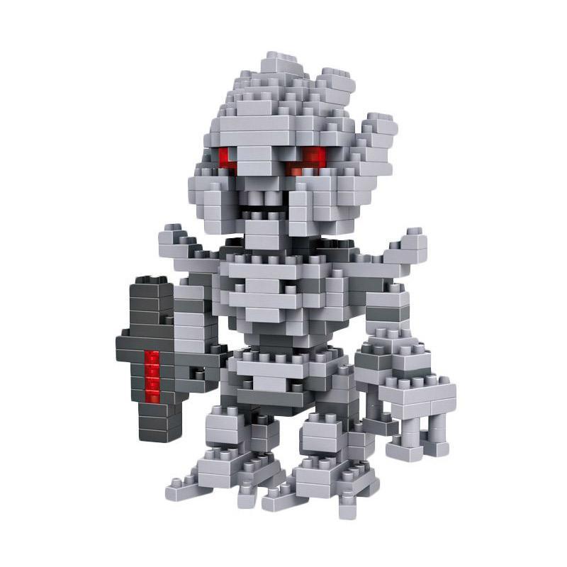 Loz Large Robot Grey 9403 Mini Blocks