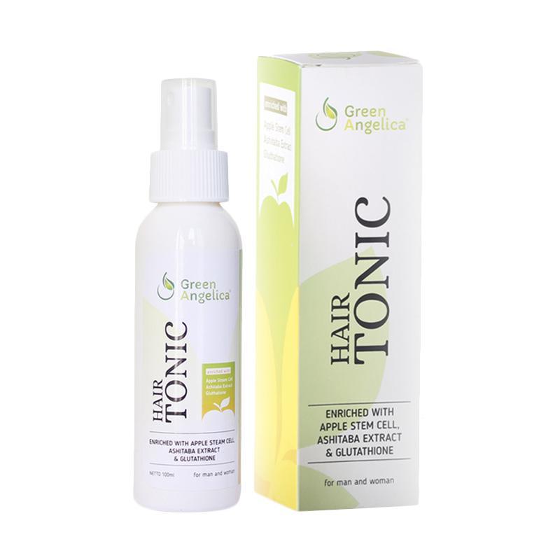 harga greenn angelica hair tonic obat rambut botak pria dan wanita, penumbuh rambut orang indonesia cara cepat menumbuhkan rambut teruji BPOM Blibli.com