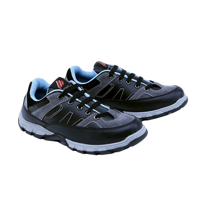 Garsel GDA 9507 Sneakers Shoes Sepatu Anak Laki-Laki - Hitam