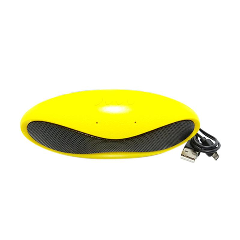 Solidex X-8U Oval Pernist Bluethooth Speaker - Yellow