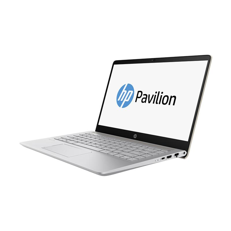 harga HP Pavilion 14-BF002TX Notebook - Gold [Intel Core i5-7200U/8GB/1TB+128GB SSD/Nvidia GT940MX 2GB] Blibli.com