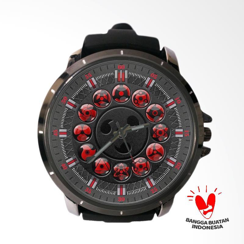 harga Fika Naruto Gokil Rubber Custom Jam Tangan Pria - Black Blibli.com