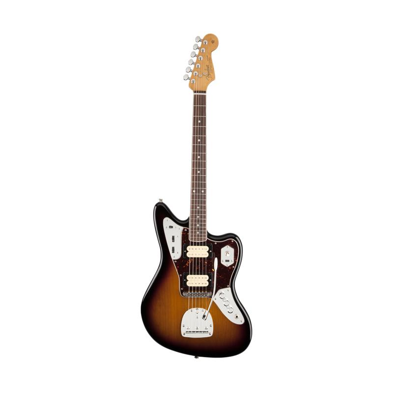 Fender Jaguar Kurt Cobain Sunburst Gitar Listrik