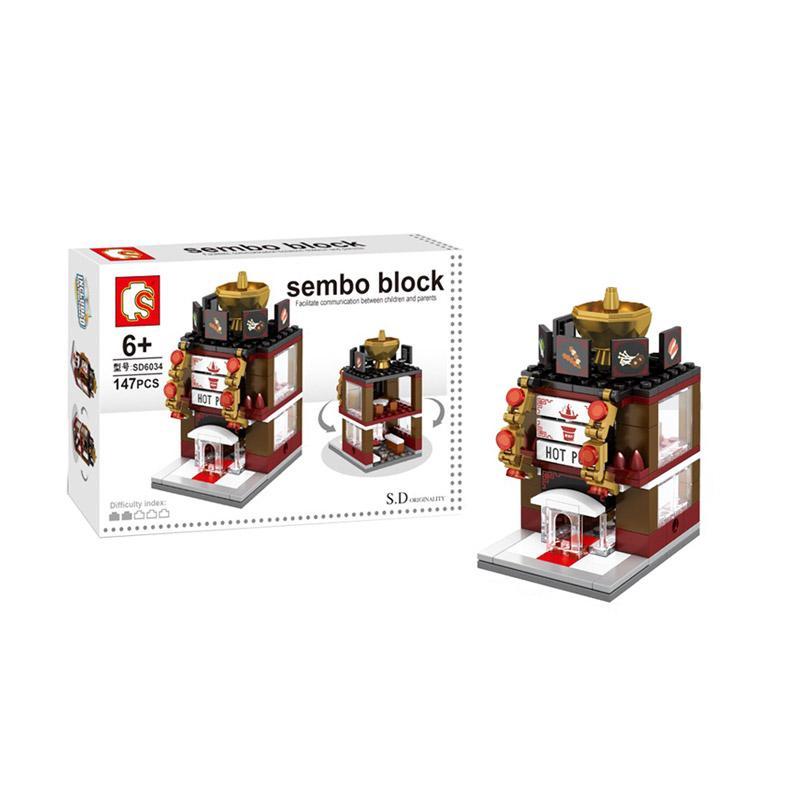 Sembo Block Hot Pot Restaurant Blocks & Stacking Toys