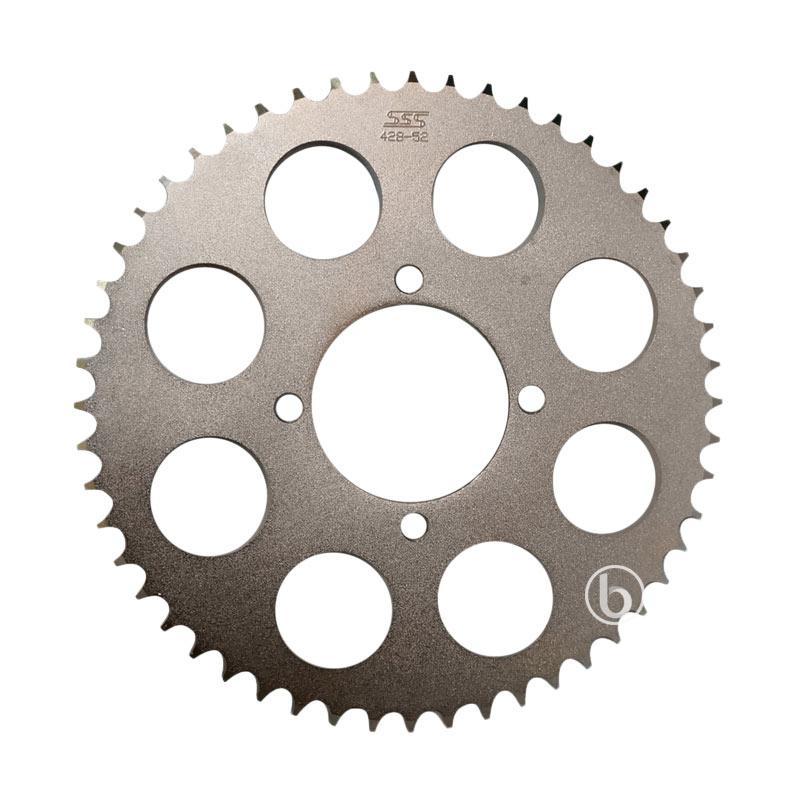 harga SSS Gear Belakang Motor for Yamaha New Jupiter MX 135 - Silver [428-52] Blibli.com