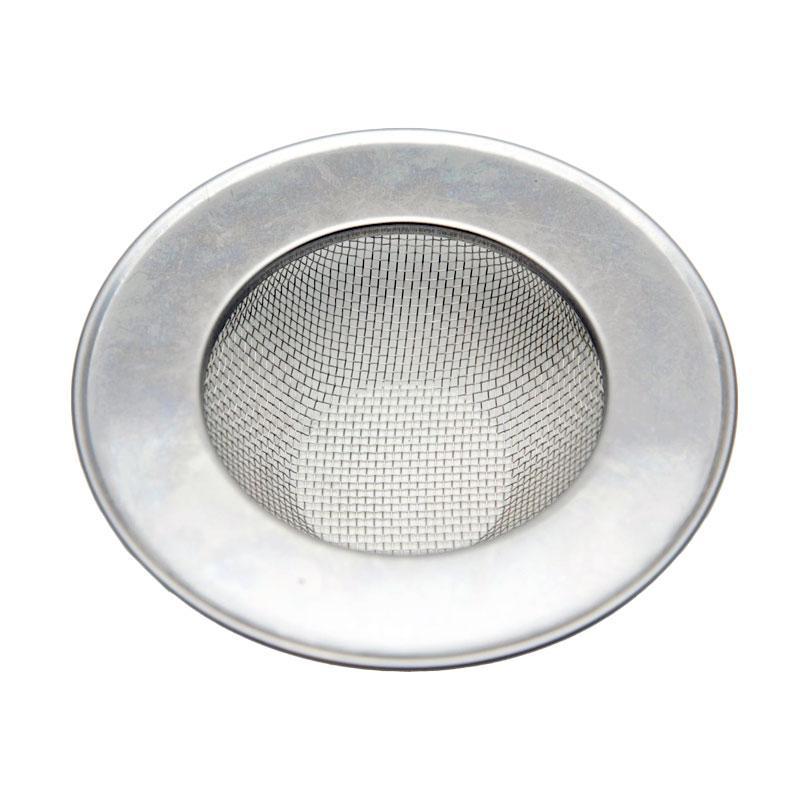 OEM FSW11 Stainless Filter Saringan Wastafel - Perak [11.5 cm]