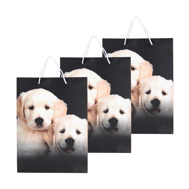 Karisma 742378 Kemeja 2 Anjing Shopping Bag [3 pcs]