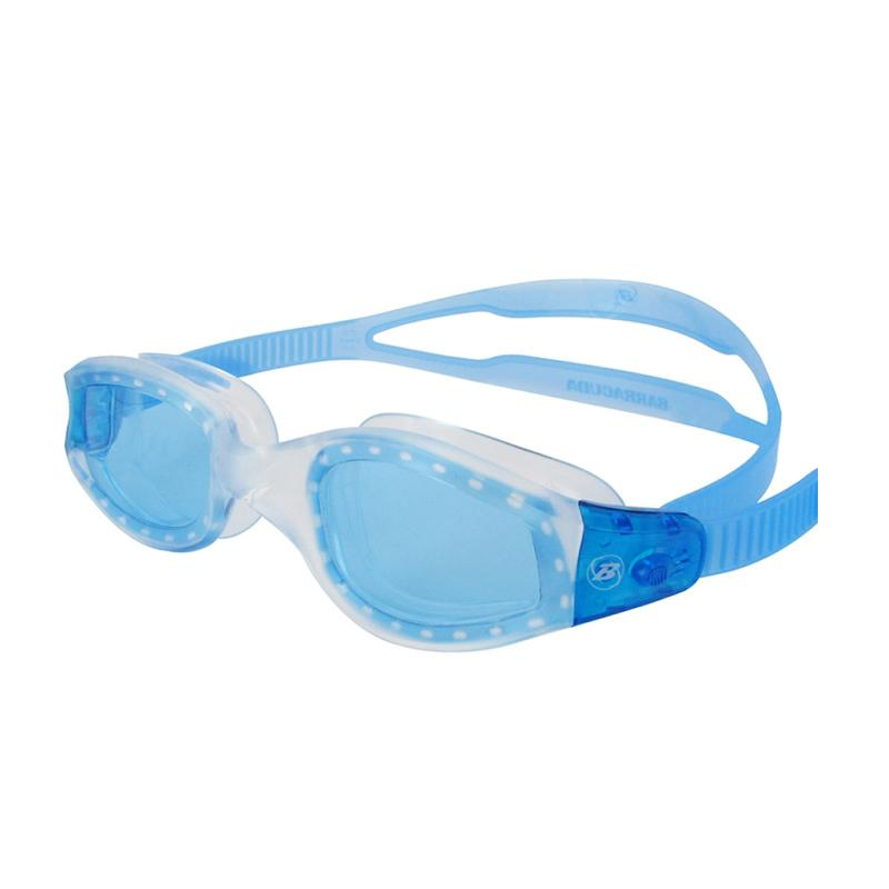 Barracuda AQUATEMPO Curved Lenses Anti-Fog UV Protection Kacamata Renang - Blue [#12220]
