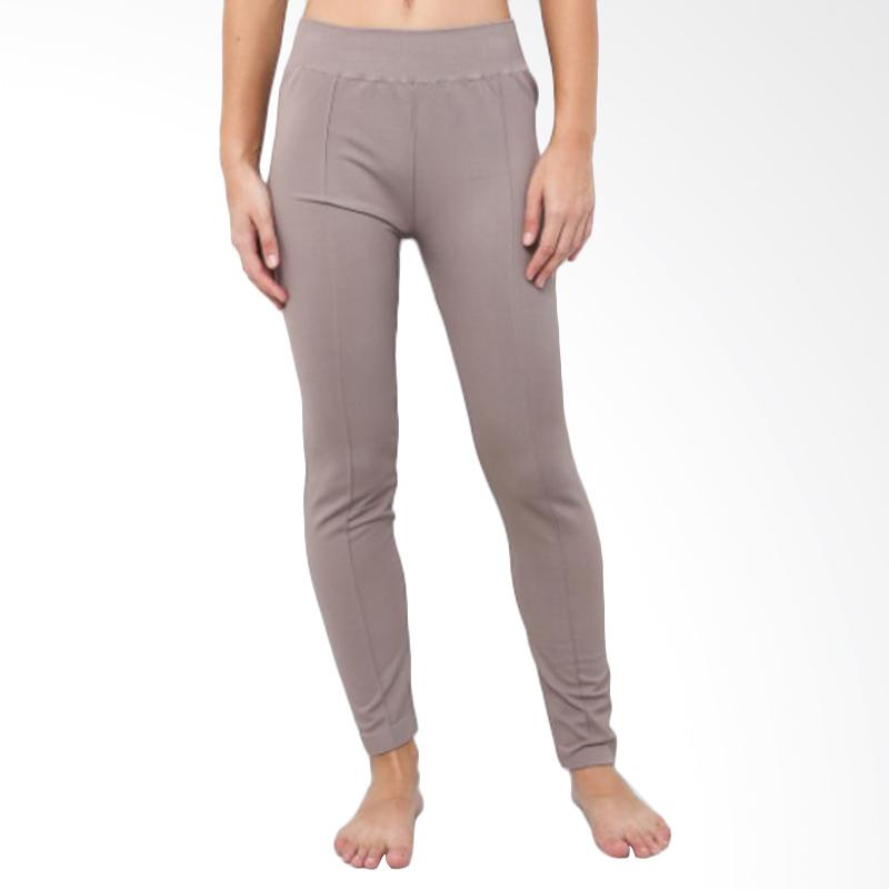 GT LADIES GTLG04 Pant with Pocket Celana Legging - Brown