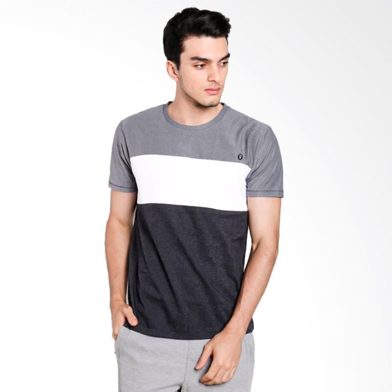 Greenlight Men 5912 T-Shirt Pria - Grey