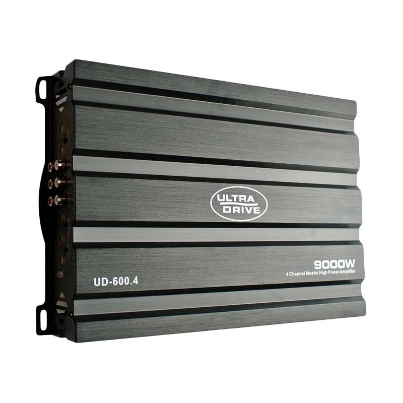 UltraDrive UD-600.4 4 Channel Mosfet Power Amplifier 4 Channel - Car Audio System