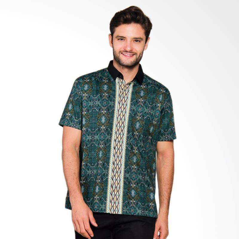 Adiwangsa Model Modern Slim Fit Baju Kemeja Batik Pria [021]