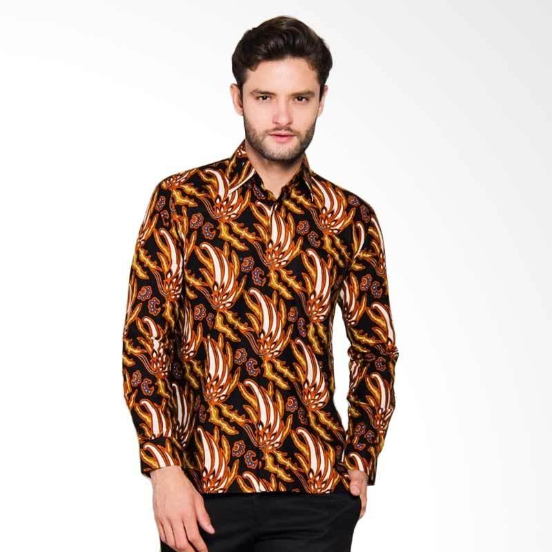 Adiwangsa Model Baju Slim Fit Kemeja Batik Modern Pria [026]