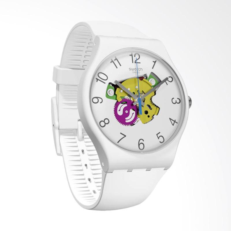 Swatch Candinette Jam Tangan Pria - White [SUOW148]