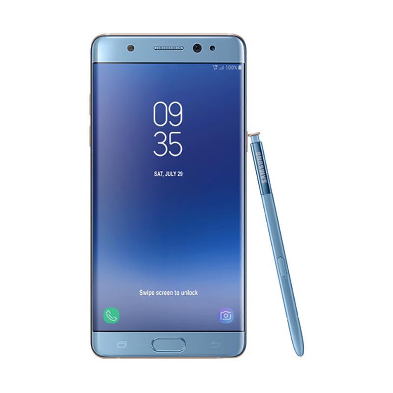 harga Samsung Galaxy Note FE Smartphone - Blue [Fan Edition/64 GB/4 GB] Blibli.com