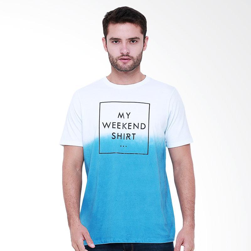 Tendencies Weekend T-Shirt Pria - White