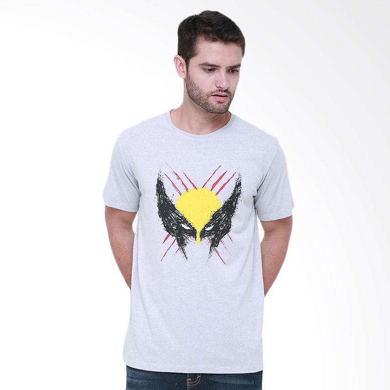Tendencies Splated Wolverine T-shirt Pria - Misty Grey