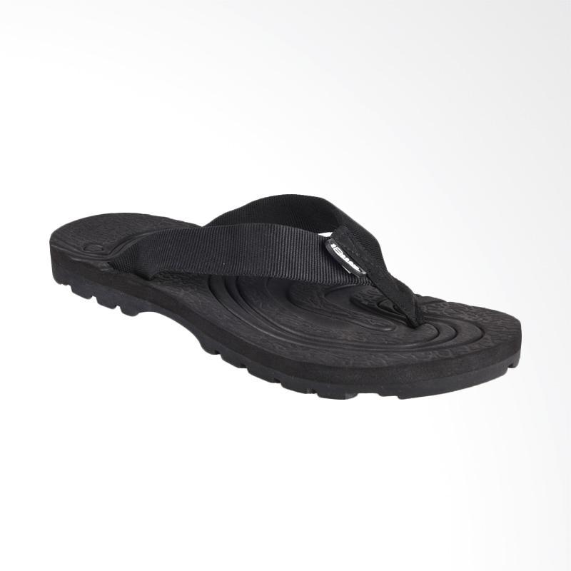 Boogie Adventure Lingga Sandal Jepit Pria - Hitam
