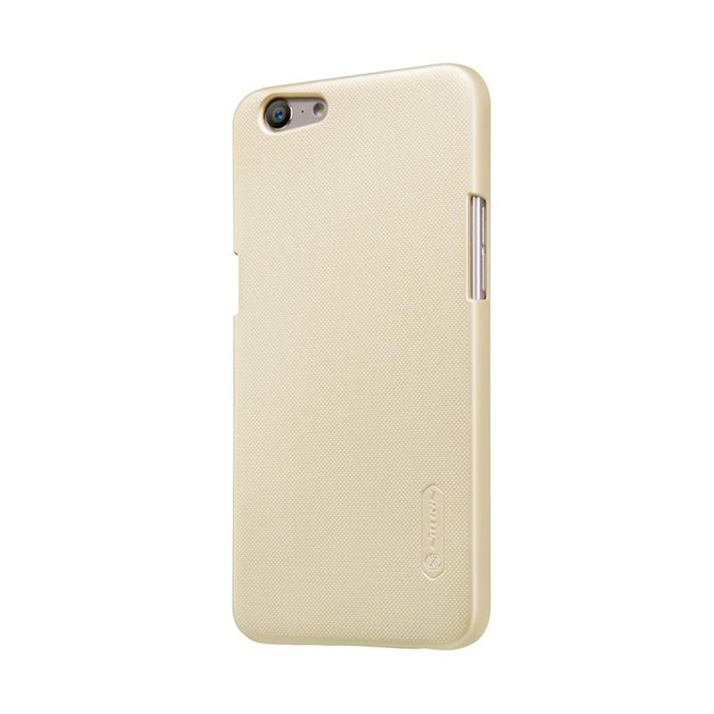 Jual Nillkin Super Frosted Shield Hardcase Casing for Oppo A57 or Oppo A39 - Gold Online - Harga & Kualitas Terjamin | Blibli.com