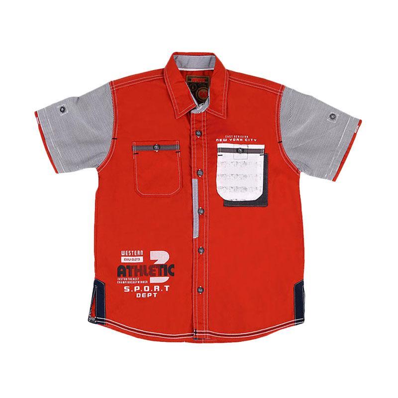 Woffi HK5-04-762 Sport Department Kemeja Anak - Orange