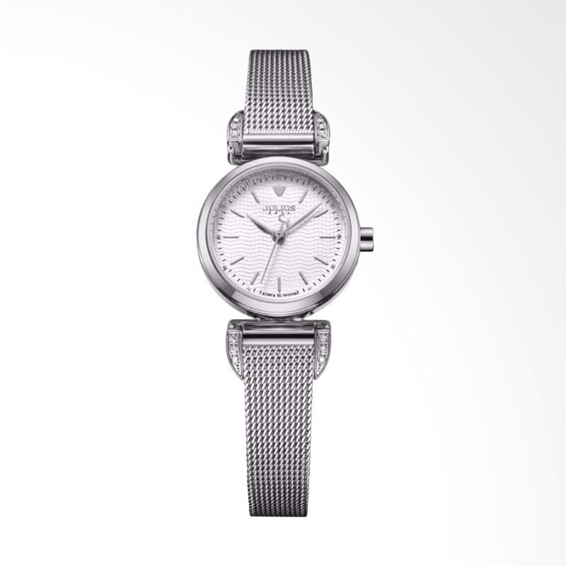 Julius JA-971-A Jam Tangan Wanita - Silver