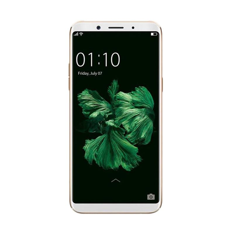 OPPO F5 Youth Smartphone - Gold [32GB/ 3GB] Free Prince PC-5