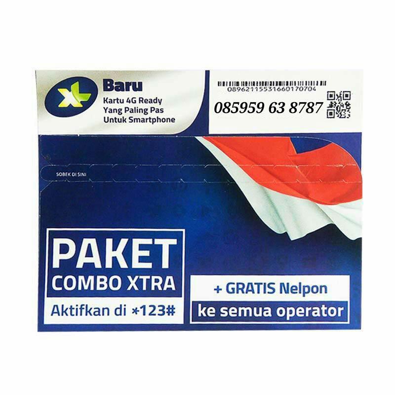 XL Nomor Cantik 085959 63 8787 Kartu Perdana [4G LTE]