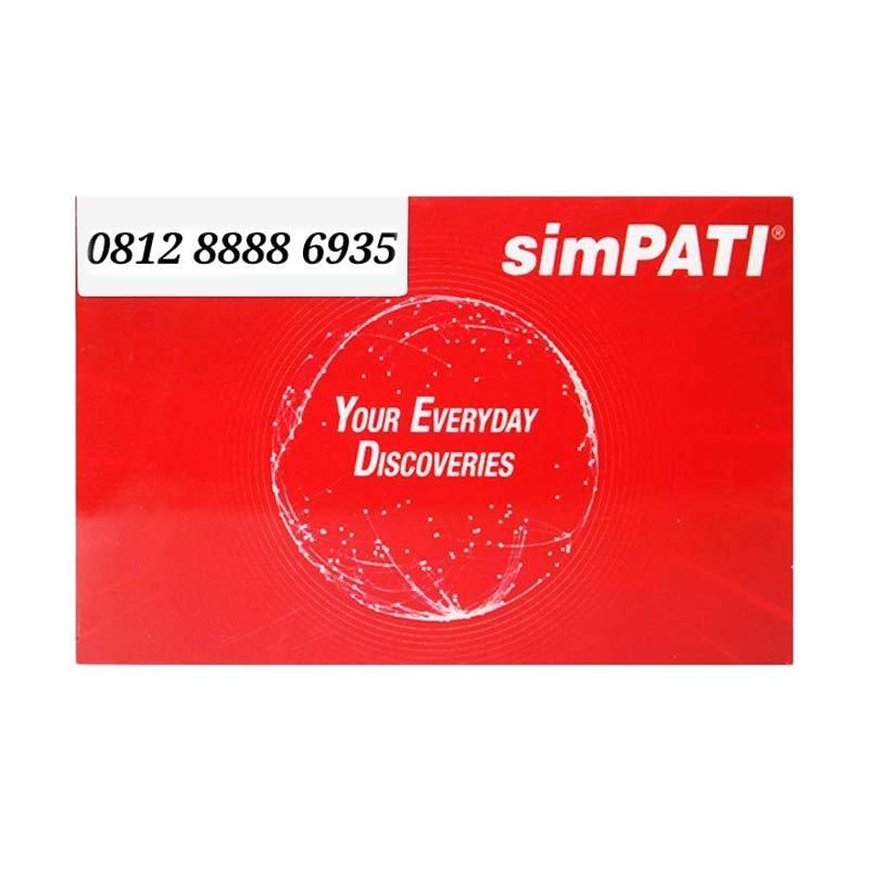 Telkomsel Nomor Cantik 0812 8888 6935 Kartu Perdana [4G]