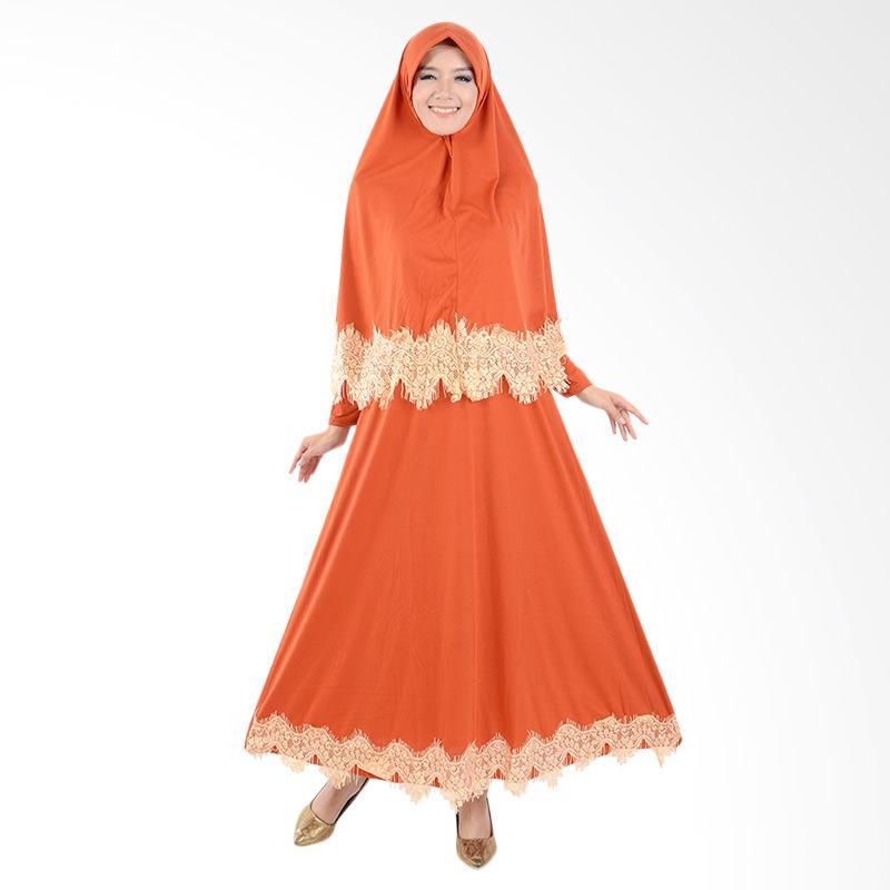 harga Jfashion Variasi Renda Maxi Hasna Plus Hijab Long Dress Gamis Muslim Wanita - Bata Blibli.com