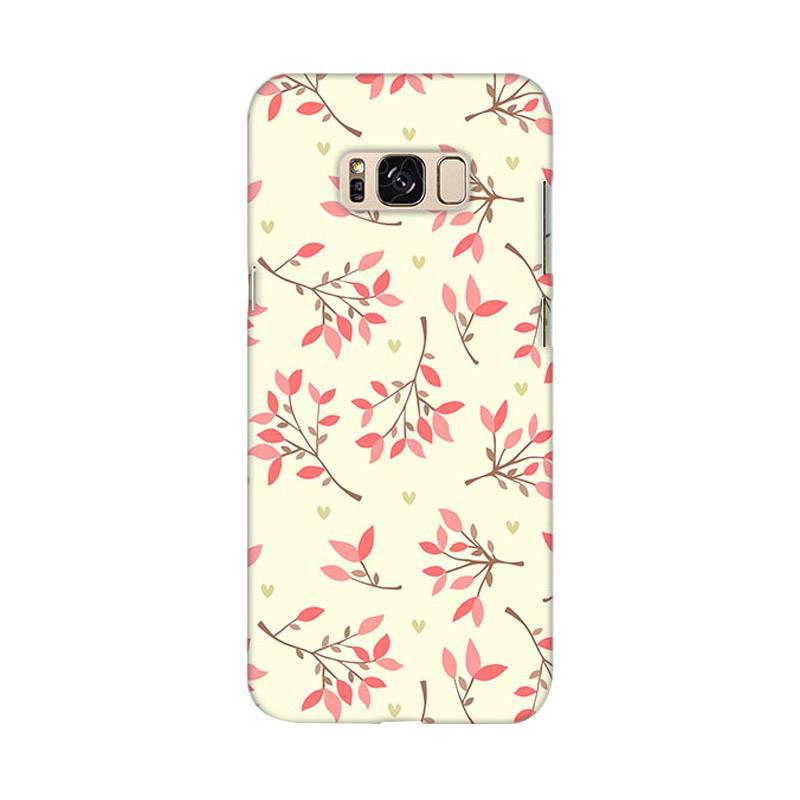 Premiumcaseid Cute Floral Seamless Shabby Hardcase Casing for Samsung Galaxy S8