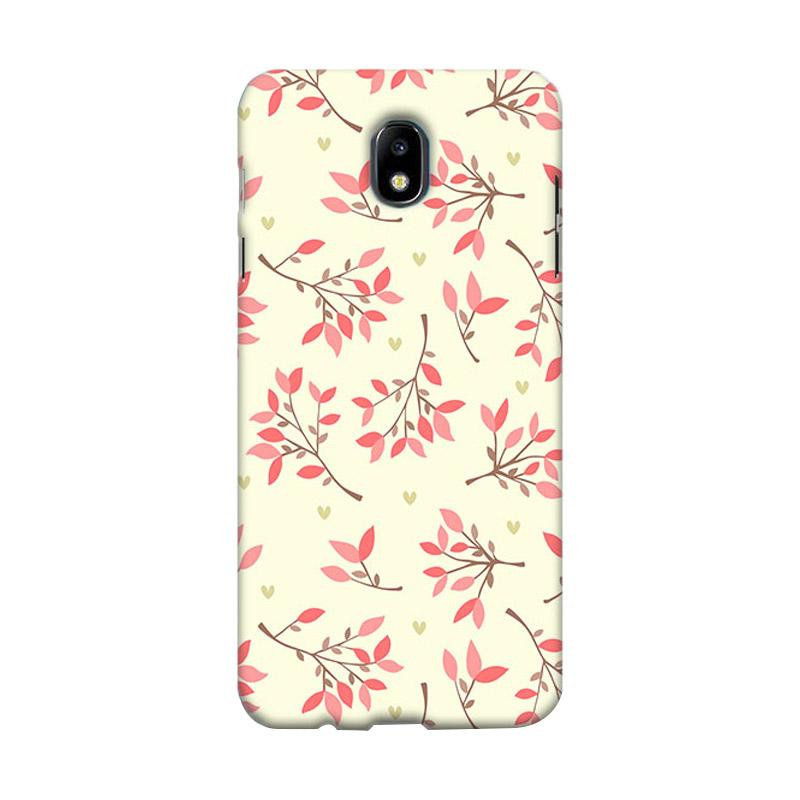 Premiumcaseid Cute Floral Seamless Shabby Hardcase Casing for Samsung Galaxy J7 Pro