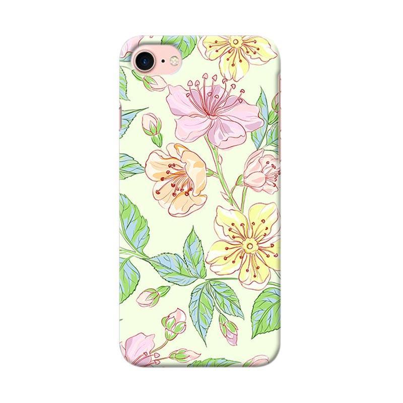Premiumcaseid Beautiful Flower Wallpaper Hardcase Casing for iPhone 8