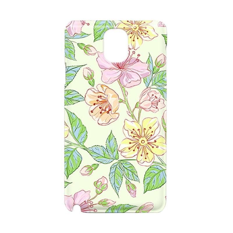 Premiumcaseid Beautiful Flower Wallpaper Hardcover Casing for Samsung Galaxy Note Edge