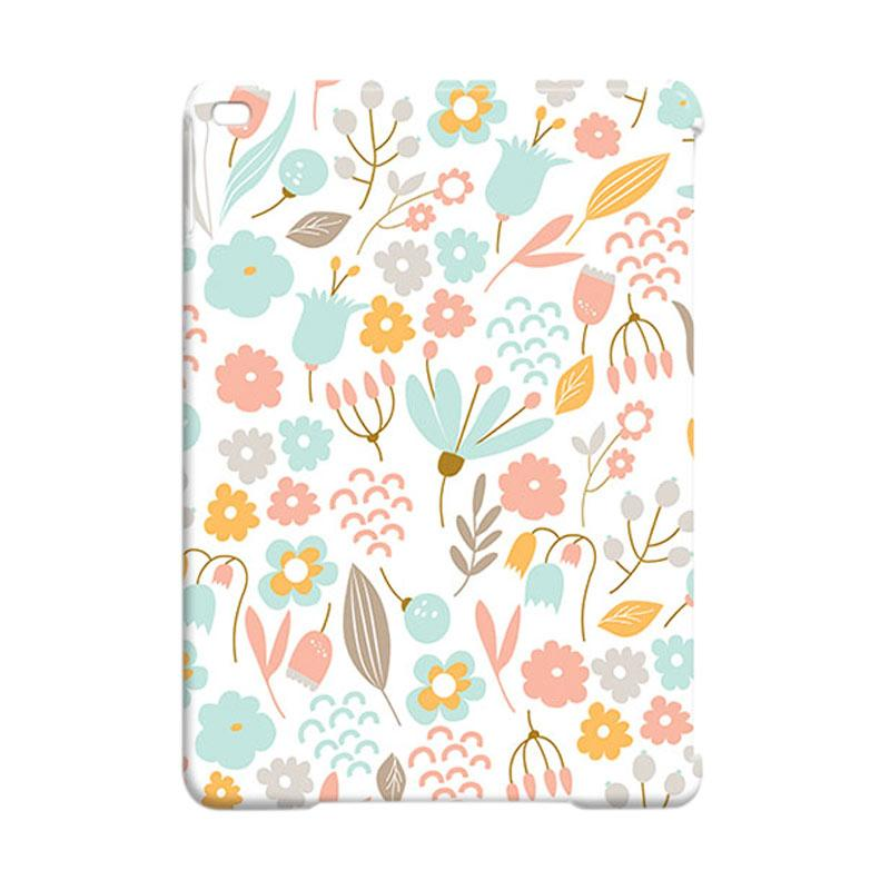 Premiumcaseid Cute Pastel Shabby Chic Floral Hardcase Casing for iPad Air 2