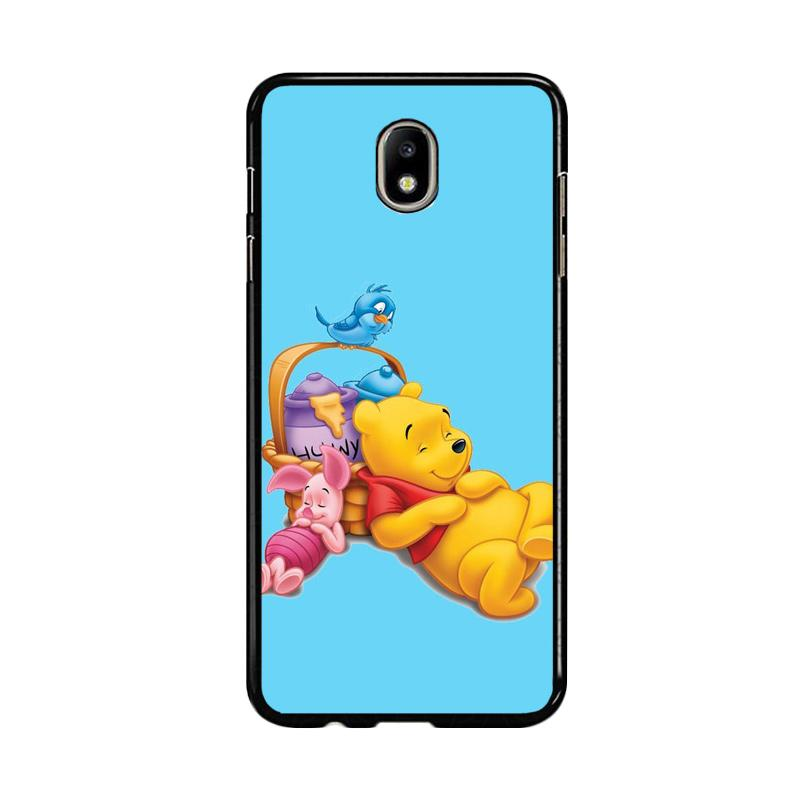 Flazzstore Funny Winnie The Pooh And Piglet Z1060 Custom Casing for Samsung Galaxy J7 Pro 2017