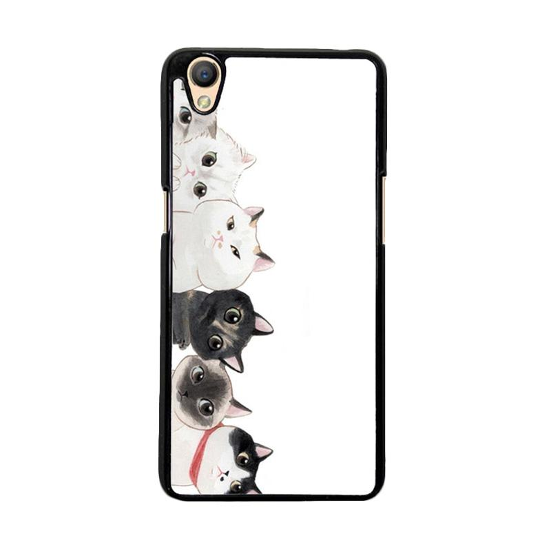 Flazzstore Cat Unity O0166 Custom Casing for Oppo Neo 9 or Oppo A37