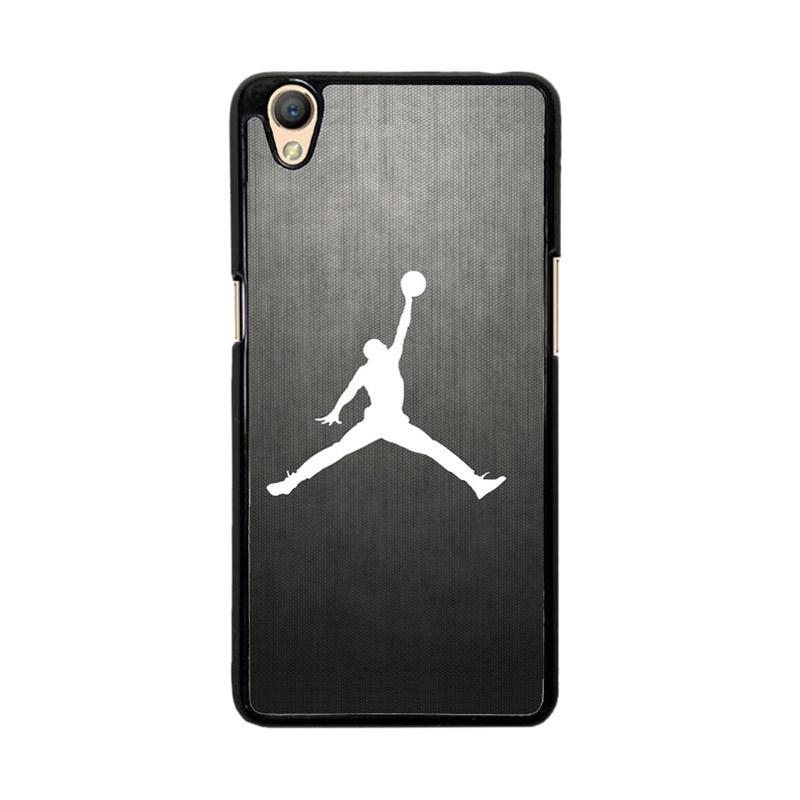 Flazzstore Air Jordan Black Texture O0621 Custom Casing for Oppo Neo 9 A37