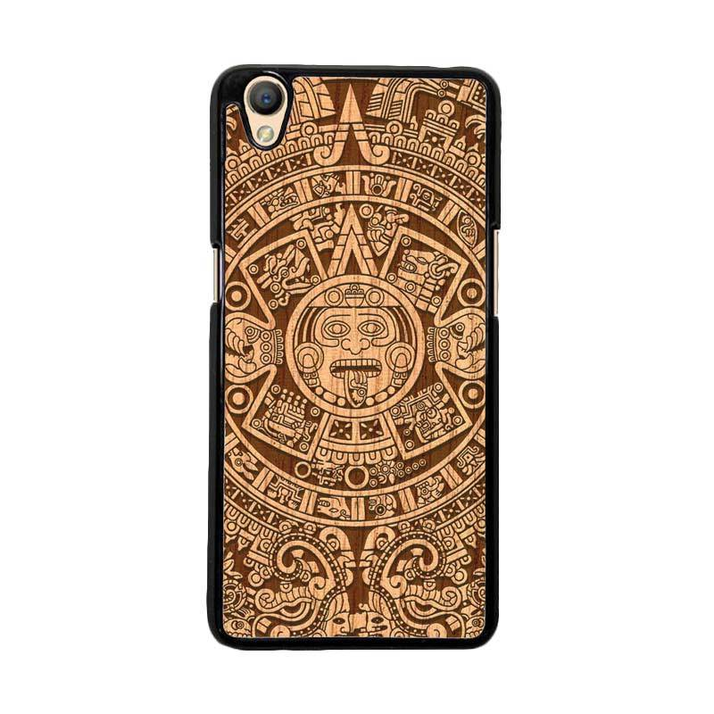 Flazzstore Mayan Calender F0202 Custom Casing for Oppo Neo 9 A37