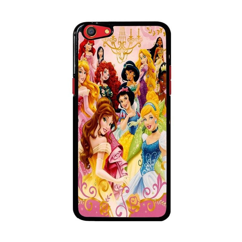 Flazzstore Disney Princess Academic Z1418 Custom Casing for Oppo F3