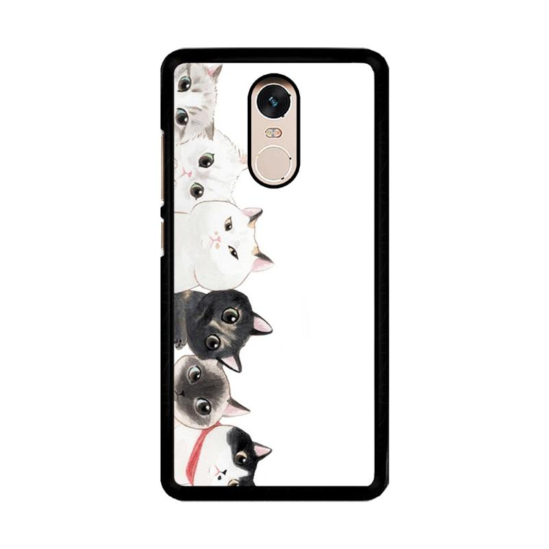 Flazzstore Cat Unity O0166 Custom Casing for Xiaomi Redmi Note 4 or Note 4X Snapdragon Mediatek