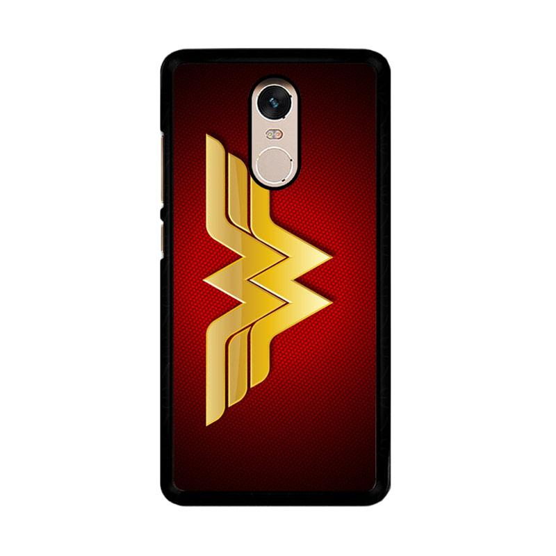 Flazzstore Wonder Woman Logo F0248 Custom Casing for Xiaomi Redmi Note 4 or Note 4X Snapdragon Mediatek