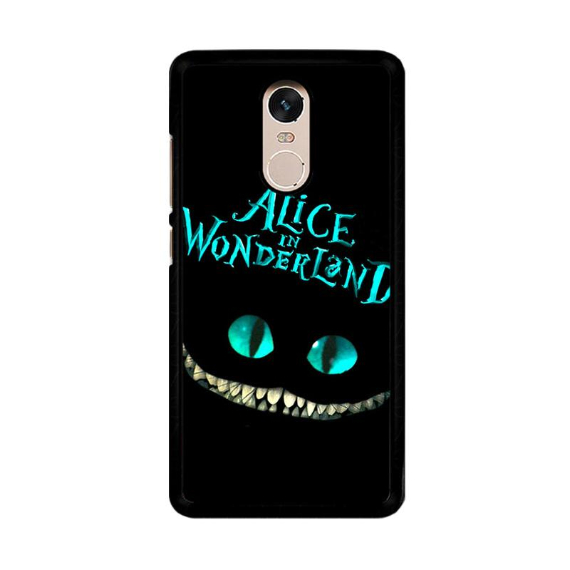 Flazzstore Alice In Wonderland F0148 Custom Casing for Xiaomi Redmi Note 4 or Note 4X Snapdragon Mediatek