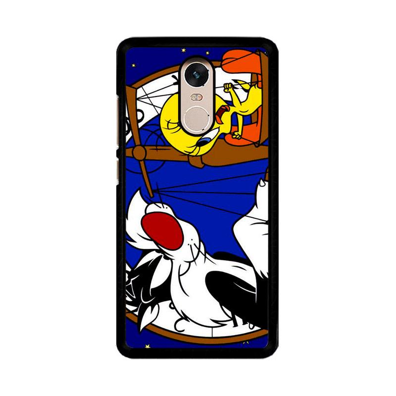 Flazzstore Tweety Bird And Sylvester Z0761 Custom Casing for Xiaomi Redmi Note 4 or Note 4X Snapdragon Mediatek