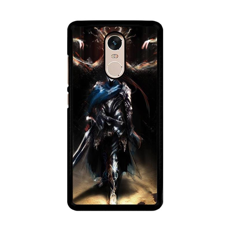Flazzstore Dark Souls Artorias F0377 Custom Casing for Xiaomi Redmi Note 4 or Note 4X Snapdragon Mediatek