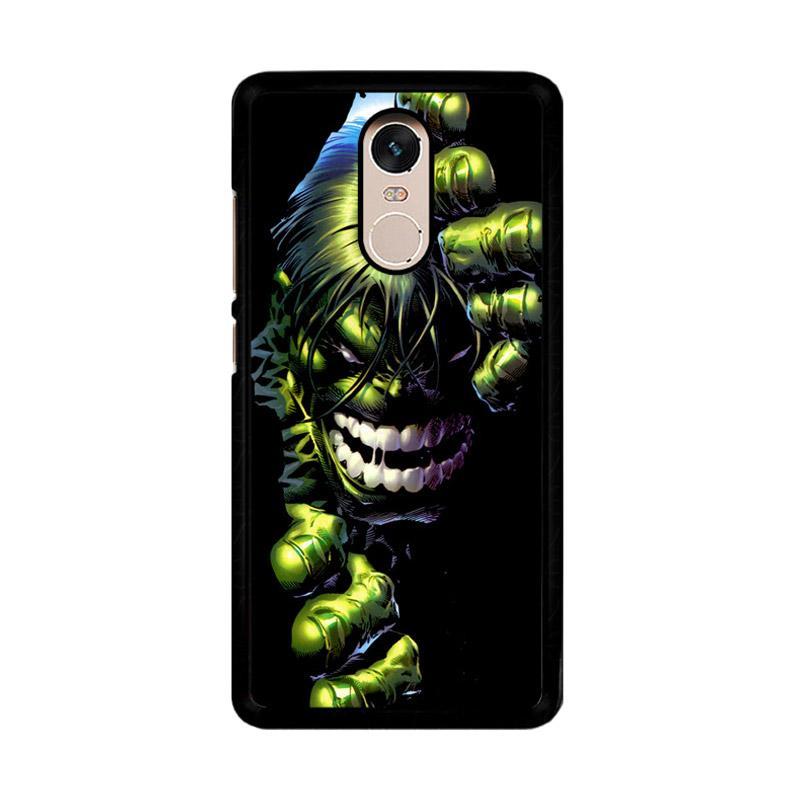 Flazzstore Superheroes The Incredible Hulk Z0047 Custom Casing for Xiaomi Redmi Note 4 Note 4X Snapdragon Mediatek