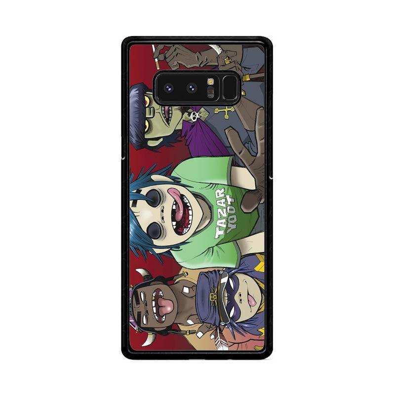 Flazzstore Gorillaz F0846 Custom Casing for Samsung Galaxy Note 8