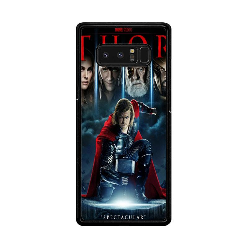 Flazzstore Thor Marvel F0811 Custom Casing for Samsung Galaxy Note8
