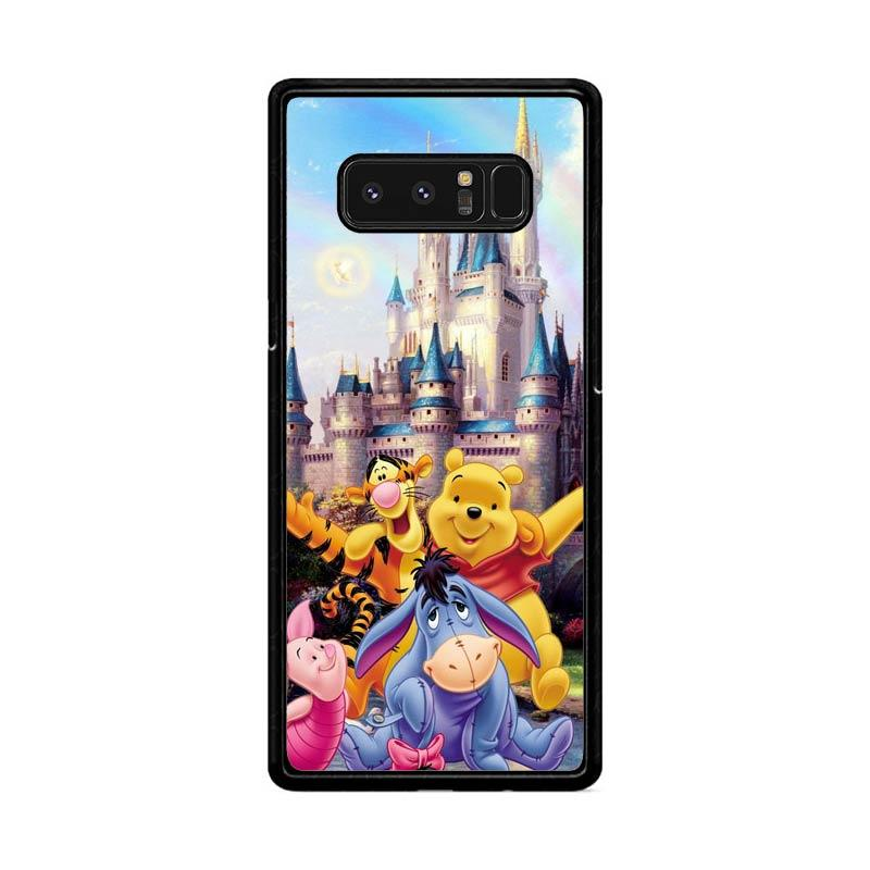 Flazzstore Winnie The Pooh Disney Z0060 Custom Casing for Samsung Galaxy Note8