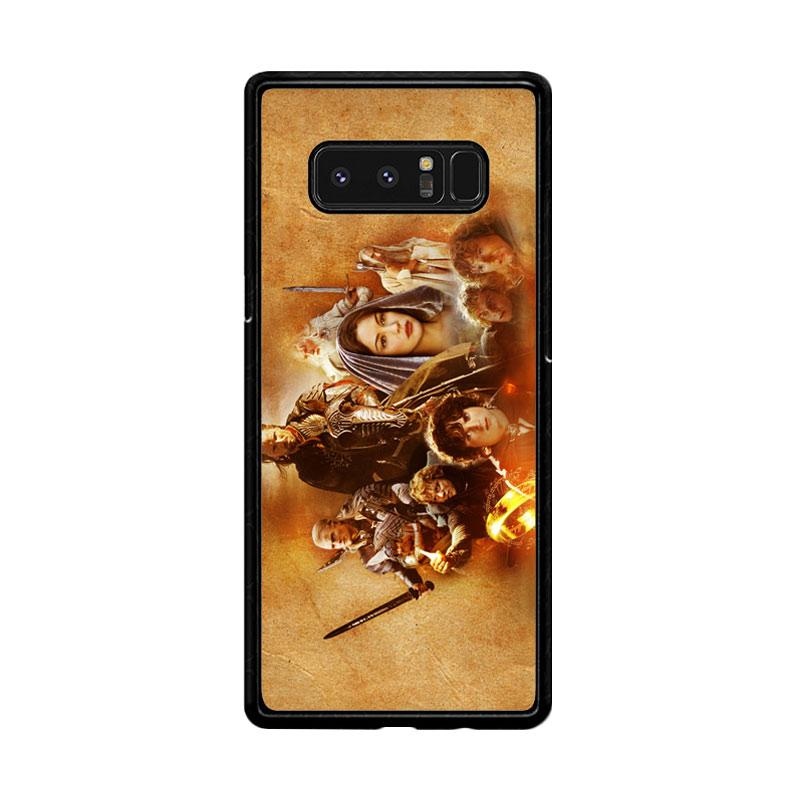 Flazzstore Hobbit Lord Of The Ring Lotr Art Z0105 Custom Casing for Samsung Galaxy Note8
