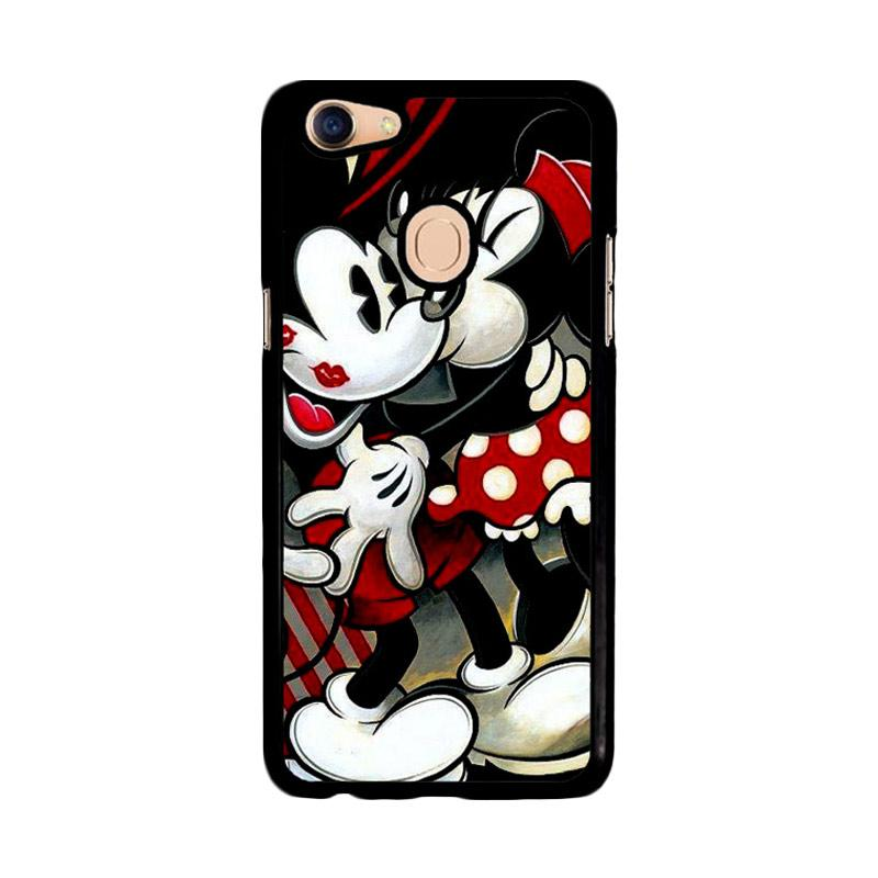 Flazzstore Hugs And Kisses  Mickey Minnie Mouse Z1557 Custom Casing for Oppo F5